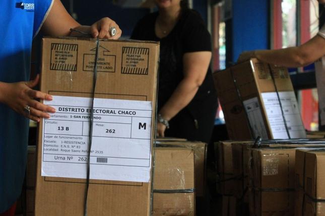 Chaco: las elecciones legislativas comenzaron sin inconvenientes