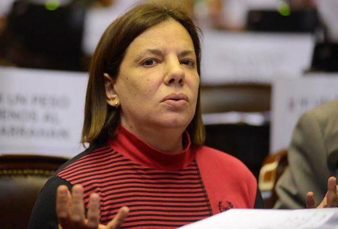 El derrape de Sandra Mendoza en plena sesión