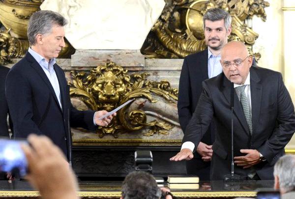 Macri le tomará juramento al nuevo titular del Plan Belgrano