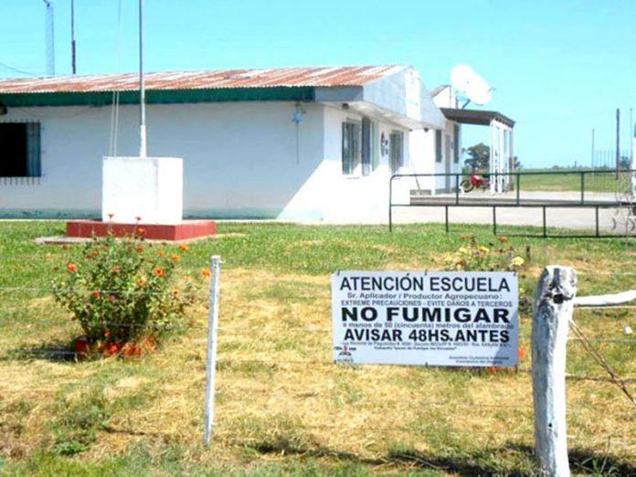Condenaron a tres hombres por fumigar una escuela rural — Entre Ríos