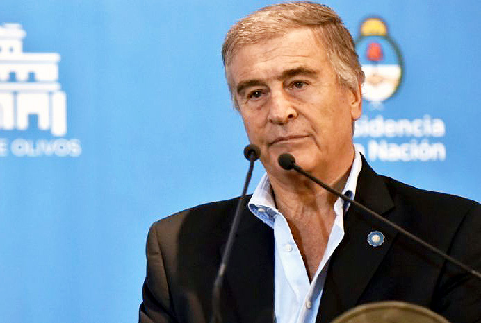 Entrerriano quiere interpelar a Aguad — ARA San Juan