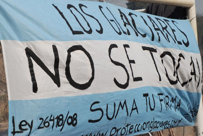 Diputada oficialista se opone a modificar ley de glaciares de Argentina
