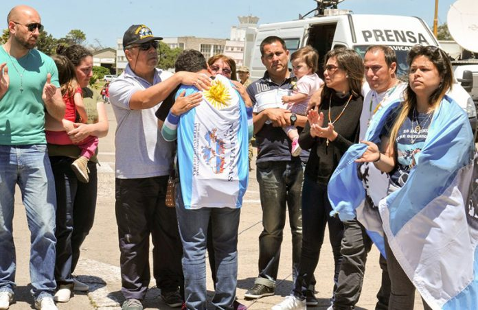 Presidente Macri analiza cuándo dar mensaje por submarino ARA San Juan