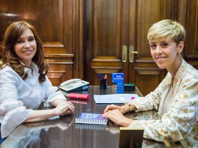 Larraburu abandonó a Pichetto y se sumó al bloque de Cristina Kirchner