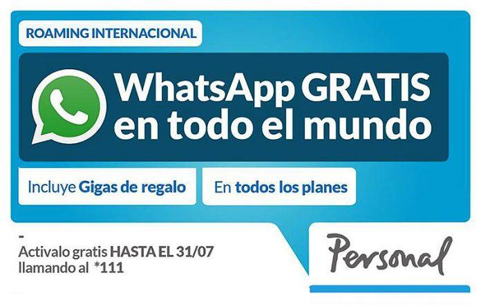 Hablar y mandar fotos por WhatsApp será gratis con Vodafone en 35 países