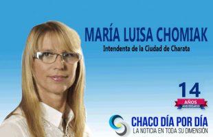 María Luisa Chomiak.