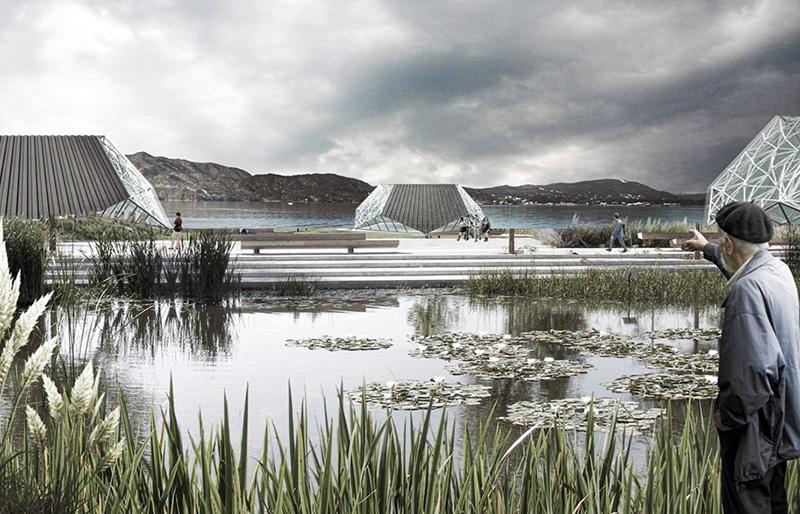 Un parque flotante en las 'islas' del lago San Roque - Chaco Dia Por Dia