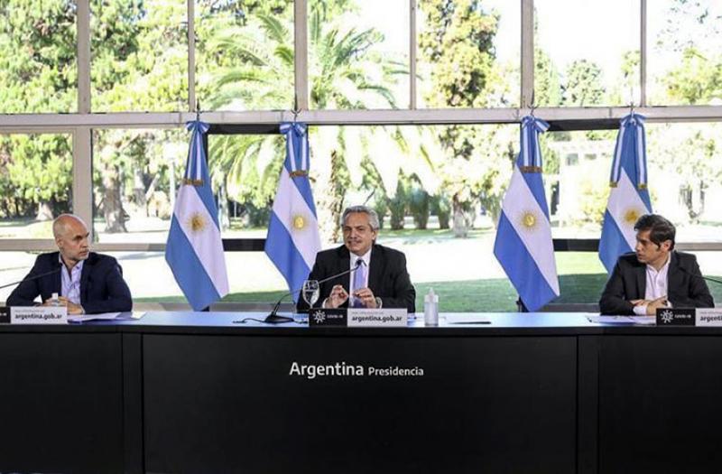 """El Presidente aseguró que, """"tenemos que aislar el área del AMBA del resto del país""""   CHACO DÍA POR DÍA"""