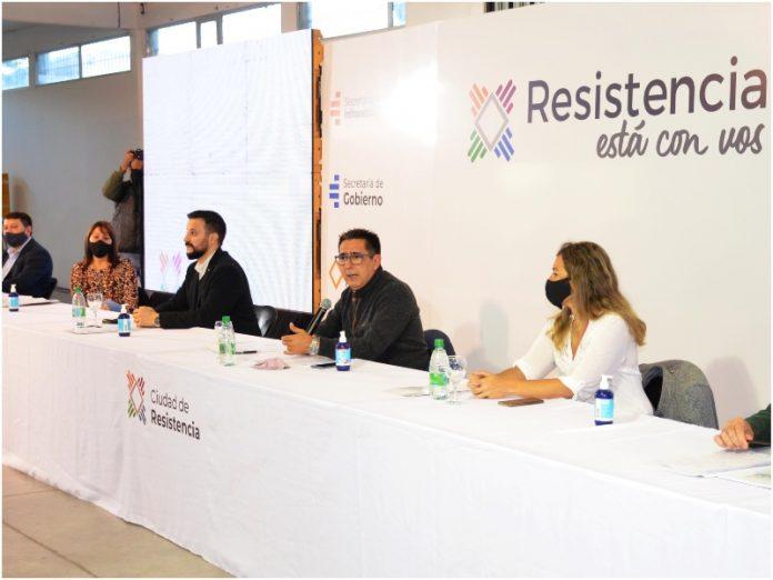 Gustavo Martínez presentó la nueva propuesta de distritos para Resistencia