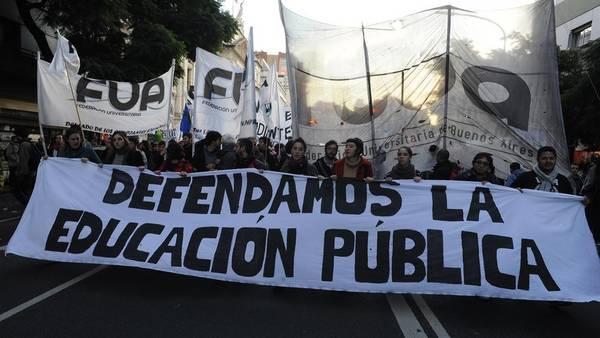 Resultado de imagen para ajuste educacion argentina