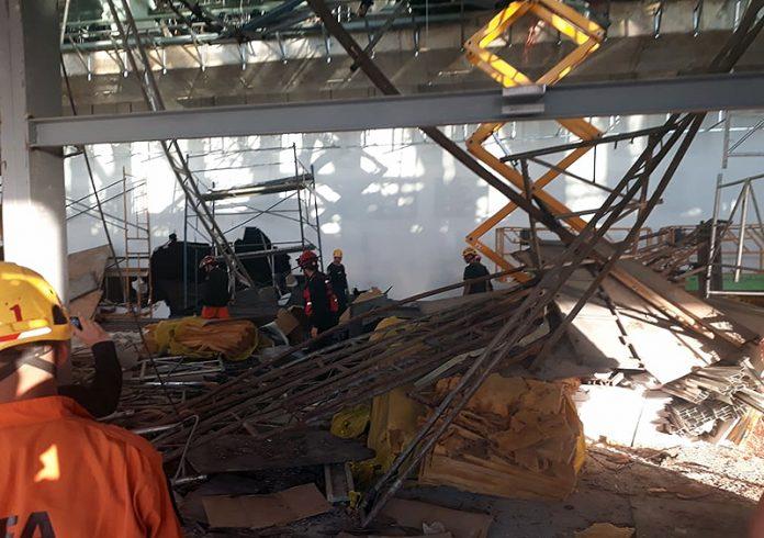 Resultado de imagen para derrumbe aeropuerto ezeiza