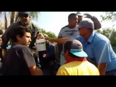 Insólito: ocho personas fueron demoradas por hacer una pintada en la calle - Chaco Dia Por Dia