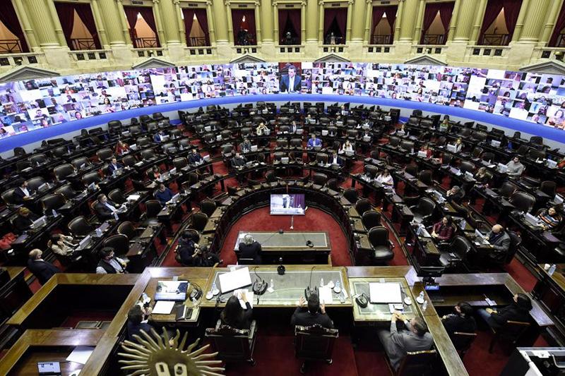 Por primera vez en la historia habrá sesiones virtuales en el Senado y la  Cámara de Diputados | CHACO DÍA POR DÍA
