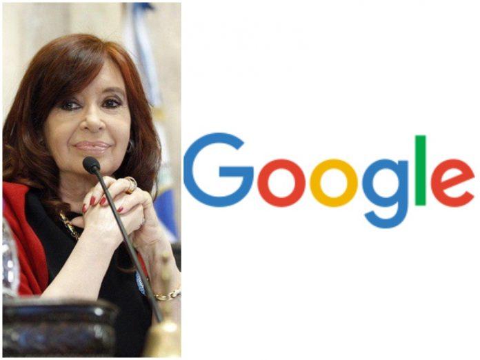 Cristina Kirchner demandó a Google por difamación y pidió una ...