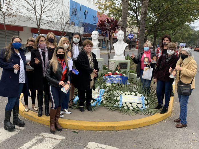 """A 69 años de su fallecimiento, la Municipalidad de Resistencia homenajeó a """"Evita"""""""
