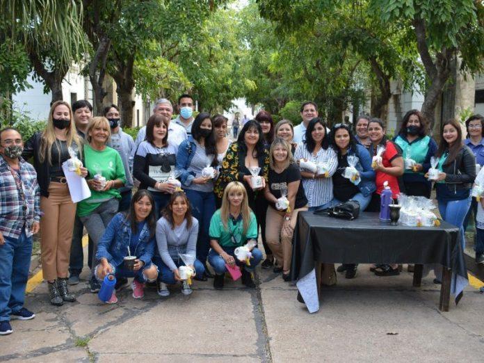 Resistencia homenajeó a las empleadas municipales por el Día de la Madre